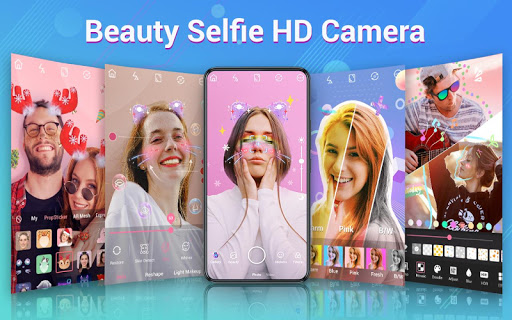 Selfie Camera: capturas de pantalla de Beauty Camera, Photo Editor 1
