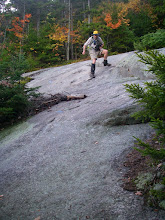 Photo: Steep ledges on the descent from Mount Wonalancet.