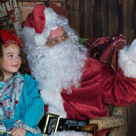 Magical Moment by Sandra Hilton Wagner - Babies & Children Children Candids ( magic, happy, man, portrait, girl, christmas, holiday, costume, child,  )