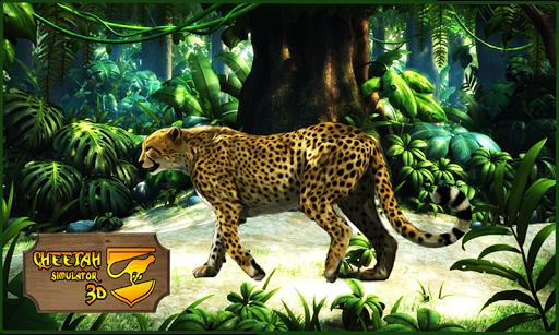Wild Cheetah Attack Simulator