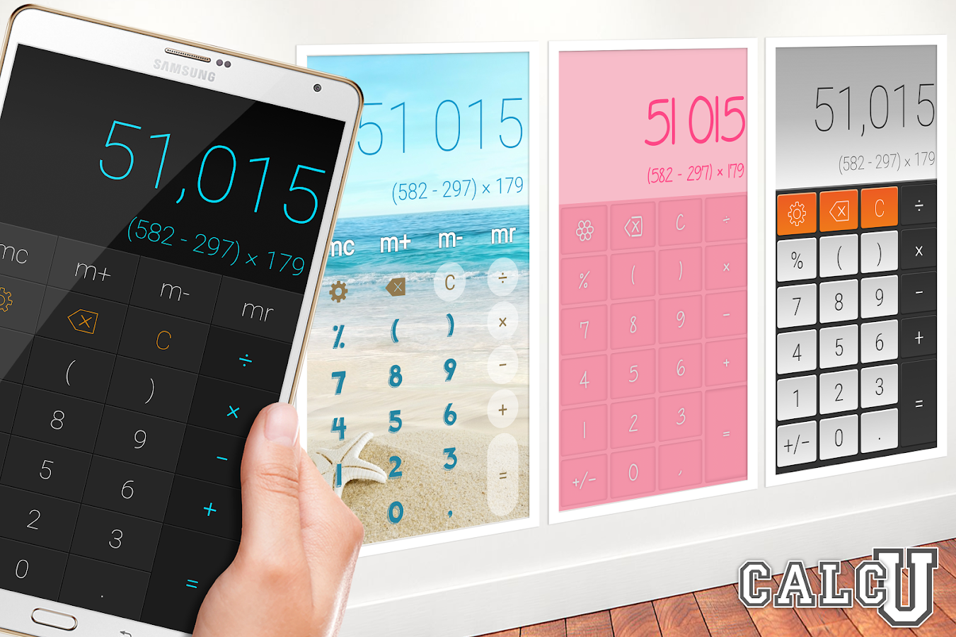 CALCU™ Stylish Calculator Free- screenshot
