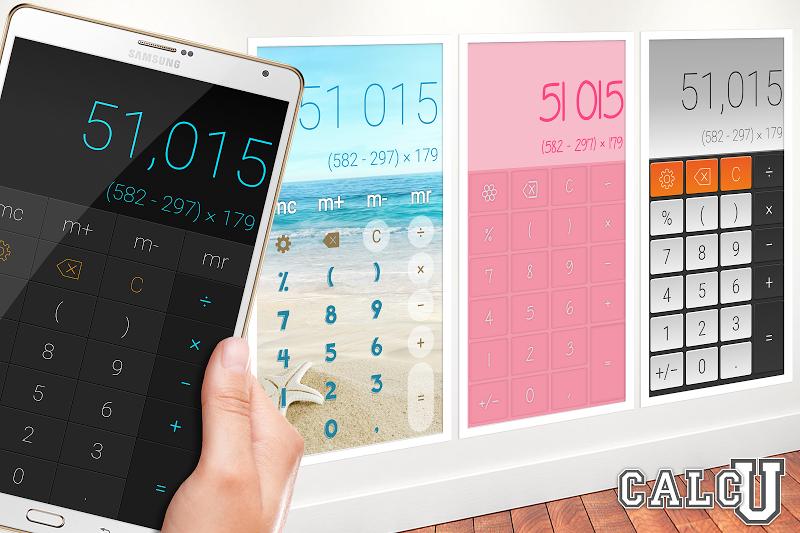 CALCU™ Stylish Calculator Free Screenshot 7