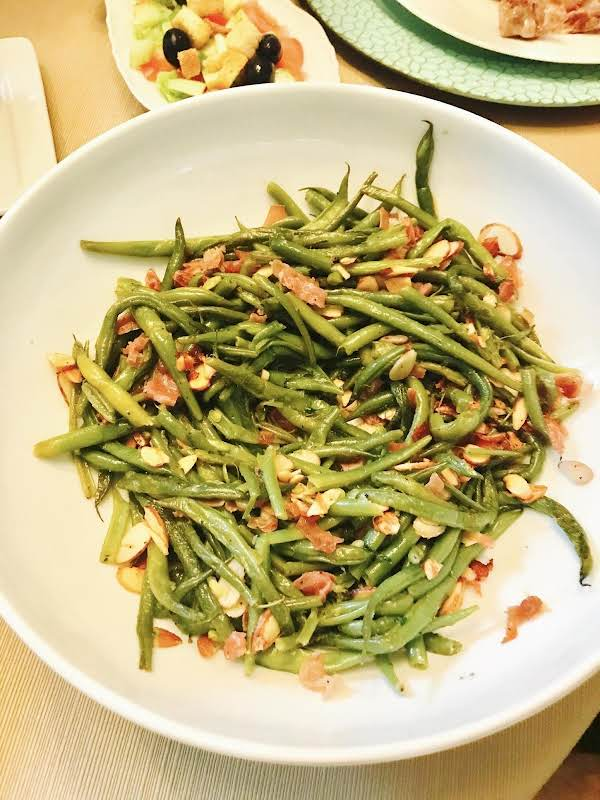 Sizzled Green Beans With Prosciutto Recipe