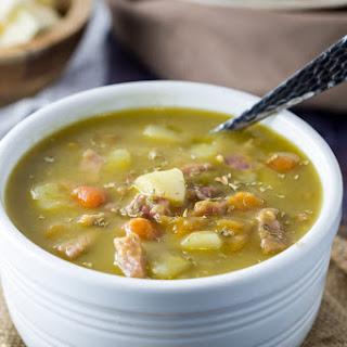Instant Pot Split Pea Soup.