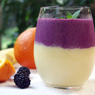 Tropical Sunrise High Protein Breakfast Smoothie Recipe