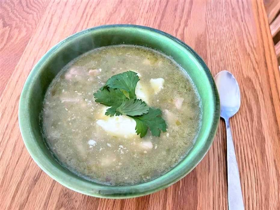 Chicken Salsa Verde Soup