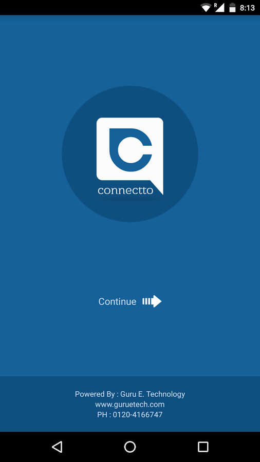 ConnectTo - School App- screenshot