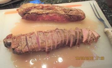 Bourbon Pork Tenderloin Recipe