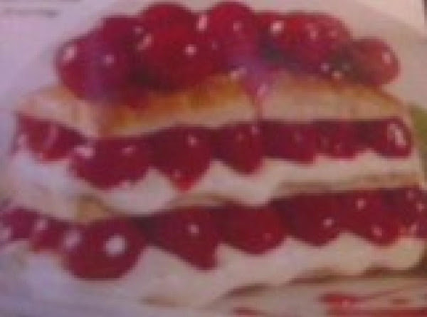 Easy Cherry-filled Napoleons Recipe