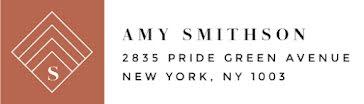 Amy Smithson - Address Label template