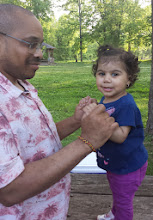 Photo: Kalonji loves the little girls. Too bad he won't let me have more (ha!) :-)