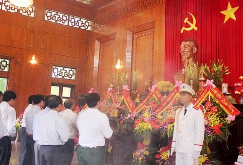 Khu di tích Kim Liên tổ chức Lễ giỗ Bác Hồ lần thứ 46