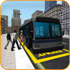 Водитель автобуса 3D: Город