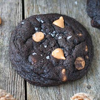 Dark Chocolate Butterscotch Cookies