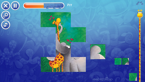 Mordillo Crazy Puzzle- screenshot thumbnail