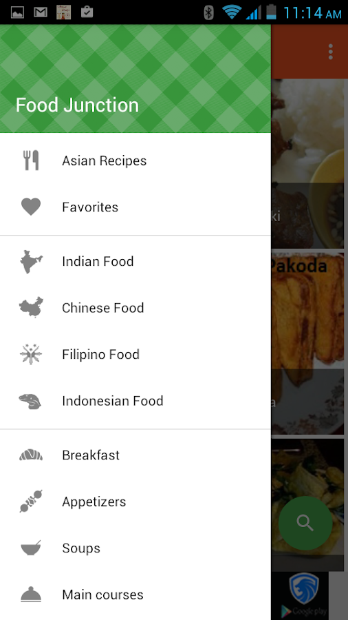 Food junction recipe android apps on google play food junction recipe screenshot forumfinder Images