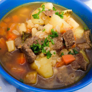 Steak Soup With Barley Recipes