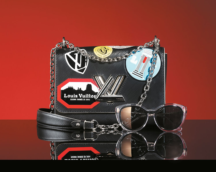 Twist MM Epi Leather hand bag, R56 000; Willow Crystal Sunglasses, R8 850, both Louis Vuitton