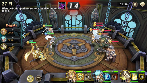 Soul Seeker : Six Knights - RPG Action Stratégie  screenshots 2