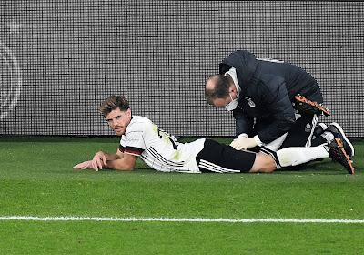 Un joueur de l'Allemagne positif au Covid-19 avant la rencontre contre l'Islande