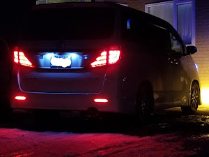 アルファード ANH25W 親車 240S タイプゴールド 4WDのカスタム事例画像 青森県のタイプゴールドさんの2019年01月11日20:16の投稿