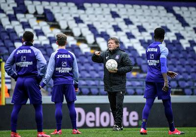 Bij Anderlecht hoeven ze niet meer zo nodig op zoek naar een spits want er maakt er ééntje veel indruk op training