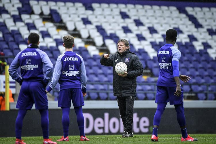 Le RSC Anderlecht envisage de reprendre les entraînements !