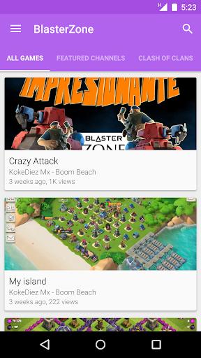 BlasterZone Player