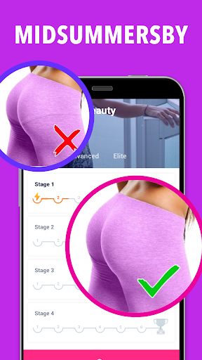 Screenshot for Glute Workout at Home in United States Play Store