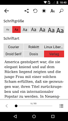 android OSIANDER eBooks mit tolino Screenshot 4