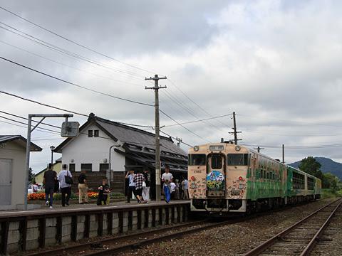 JR北海道 観光列車「風っこそうや」 天塩中川にて_01