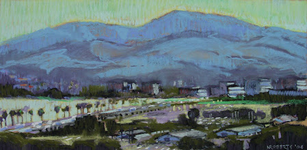 Photo: Diablo from Pacheco, pastel by Nancy Roberts, copyright 2014. Private collection.