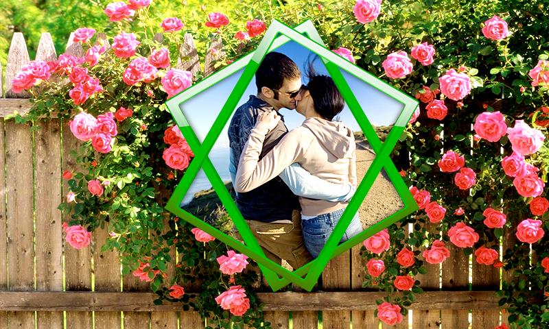 Love Flower Photo Frames Screenshot