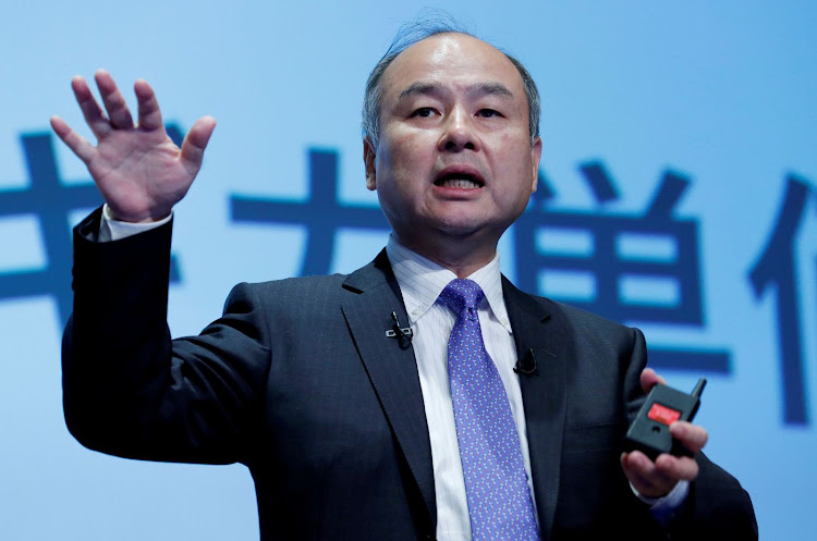 SoftBank CEO Masayoshi Son attends a news conference in Tokyo, Japan, on November 5 2018. Picture: REUTERS/KIM KYUNG-HOON