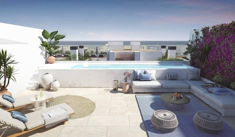 Appartement avec terrasse et piscine Santa Eulalia del Río