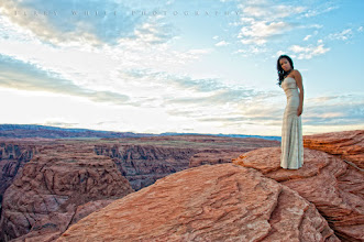 Photo: Kandice at Horeshoe Bend