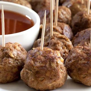 Turkey Sausage Balls.
