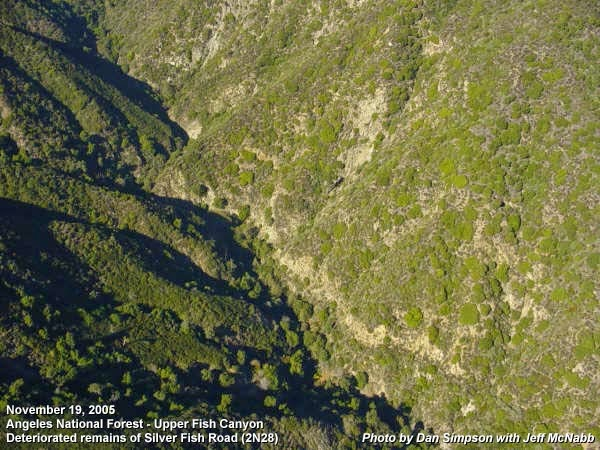 Photo: Upper reaches of Fish Canyon as seen from a helicopter