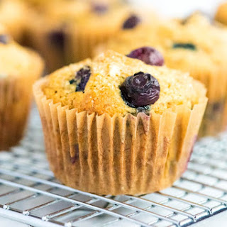 Healthy Banana Blueberry Muffins Recipe