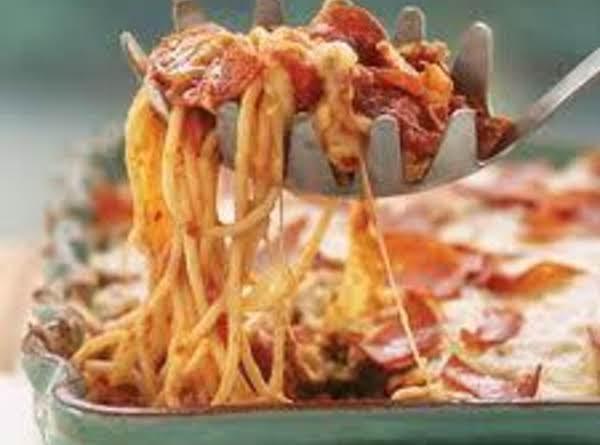 My Nana's Spaghetti Casserole