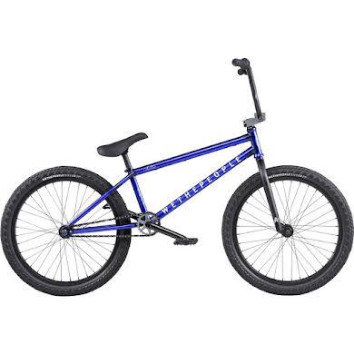 "We The People Audio 22"" BMX Bike - 21.9"" TT, Matte Translucent Blue"