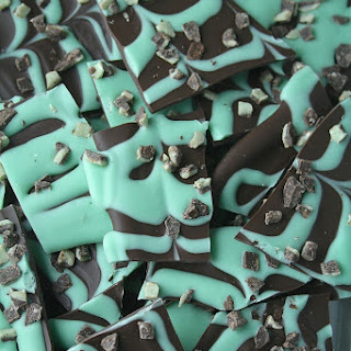 Chocolate-Mint Bark.