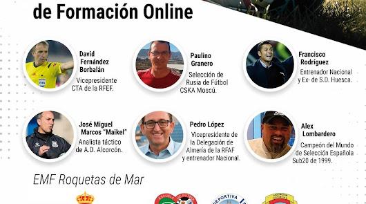 Formación online de la Escuela de Fútbol de Roquetas