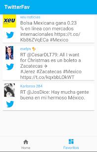 TwitterFav - náhled