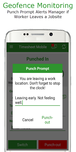Employee Time Clock w/ GPS, Scheduling & Messaging  screenshots 2