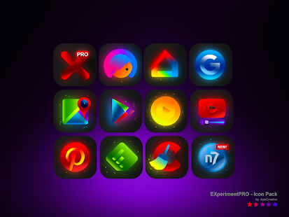 ExperimentPro - new icon pack