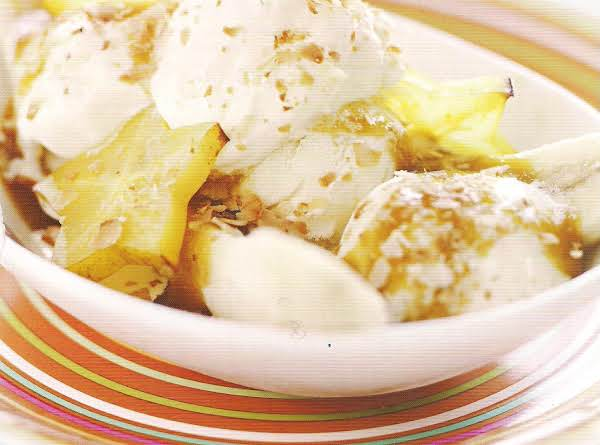 Pineapple Coconut Gratin Recipe