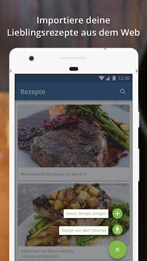 Rezepte anlegen app