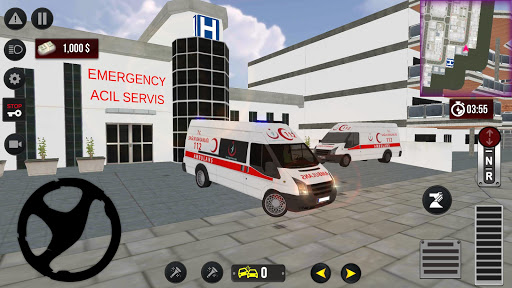 911 Emergency Ambulance Simulation android2mod screenshots 2