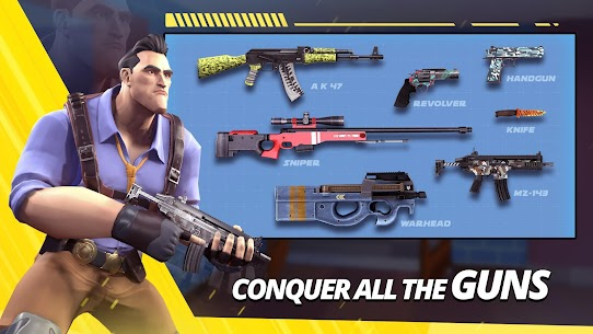 Gun Game – Arms Race MOD (One Hit Kill/God Mode) 3